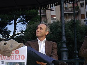 English: Marco Travaglio - photo 2 Italiano: M...