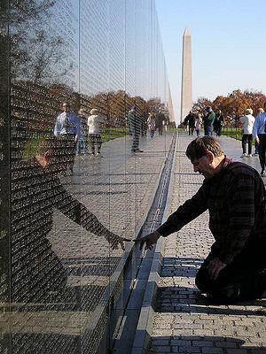 Vietam Memorial. Washington DC (Columbia). Uni...
