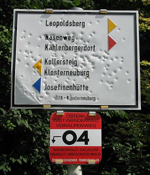 Wien Leopoldsberg ÖTK