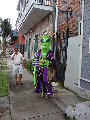 Mardi Gras Day in New Orleans.