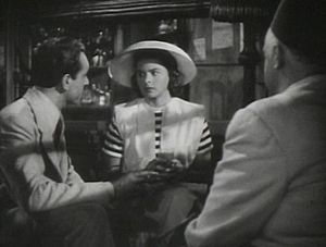 Screenshot of Paul Henreid and Ingrid Bergman ...