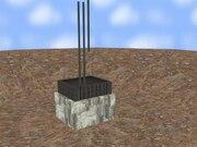 Archivo:Construcción de una cimentación por zapata aislada.ogv