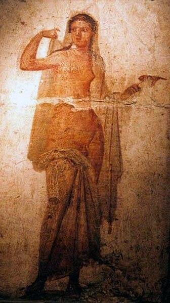 File:Ermafrodito, affresco Romano di Ercolano (1–50 d.C., Museo Archeologico Nazionale di Napoli) - 02.jpg