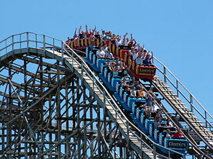 Gemini at Cedar Point is a steel hybrid roller...