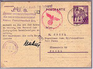 Deutsch: Postkarte der Deutschen Reichspost Ge...