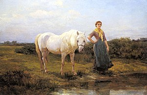Noonday Taking A Horse To Water