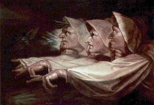 The Three Witches by Johann Heinrich Füssli.