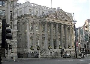 English: Mansion House (London). Taken by Adri...