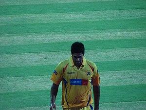 Manpreet Gony during the 2008 IPL season.