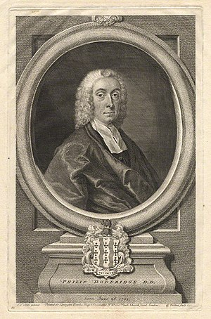 English: Philip Doddridge (1702-1751)