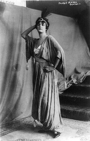 Dress designed by Paul Poiret