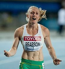 Pearson At The  World Championships