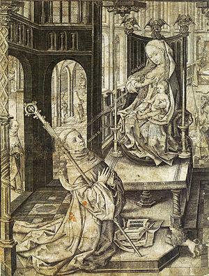 The Lactation of Saint Bernard of Clairvaux. V...