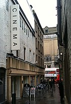 English: The exterior of the Tyneside Cinema i...