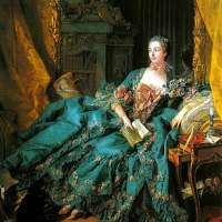 """Portrait of Madame de Pompadour"" by François Boucher"
