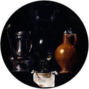 Johannes van der Beeck, Emblematic still life ...