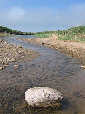 English: Fresh Water Flow