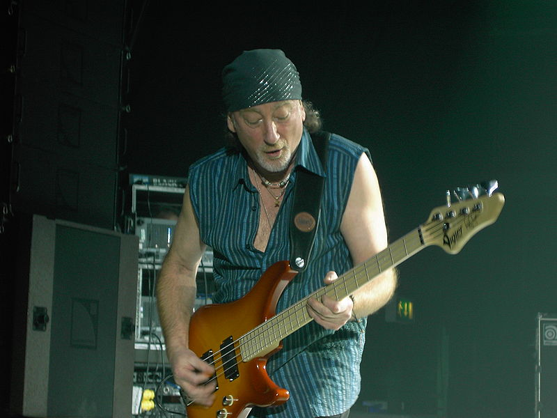 Roger Glover de Deep Purple