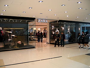 Zara Store in Hong Kong