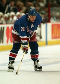 English: Jeff Beukeboom of the New York Ranger...