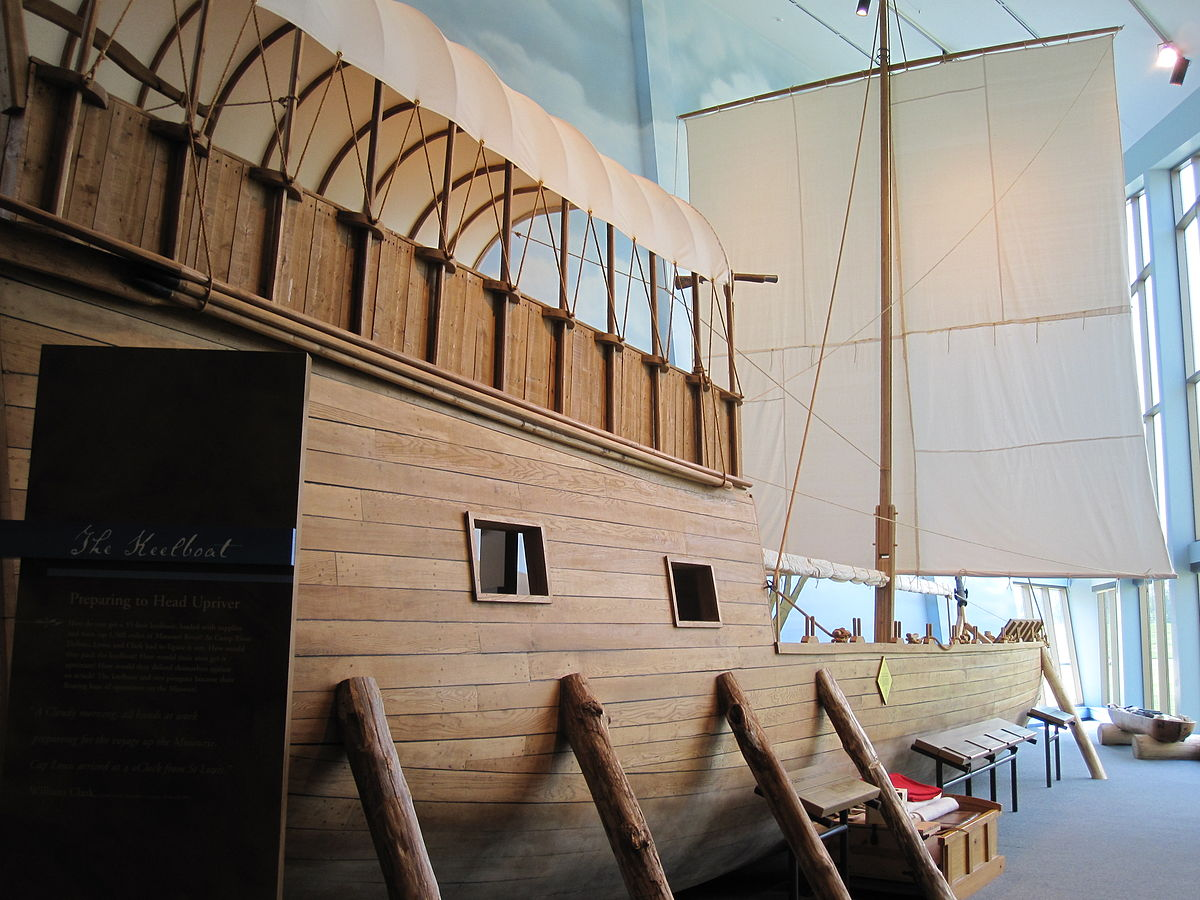 Lewis And Clark S Keelboat