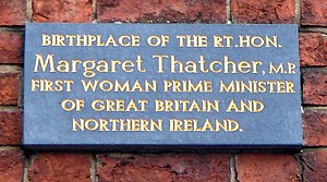 English: Commemorative plaque, The house where...