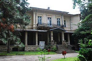English: The Monteoru villa in Sărata Monteoru...