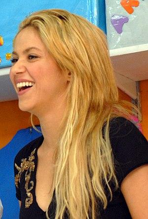 Shakira in 2011.