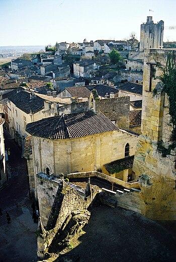 Bordeaux wine village of St. Emilion