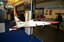 T-50 Golden Eagle Model, MSPO 2007.JPG