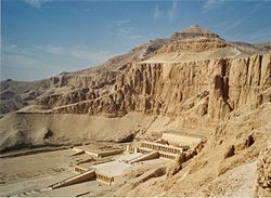 Templo de Hatshepsut en Deir el-Bahari