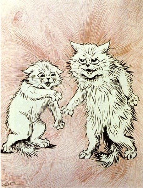 """//upload.wikimedia.org/wikipedia/commons/thumb/4/4c/Wain_Cats_--_The_Fire_of_the_Mind_Agitates_the_Atmosphere.jpg/455px-Wain_Cats_--_The_Fire_of_the_Mind_Agitates_the_Atmosphere.jpg"""" cannot be displayed, because it contains errors."""