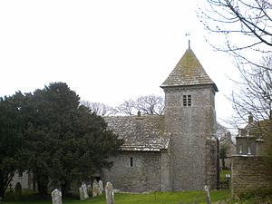 English: Worth Maltravers Church, Dorset, England.