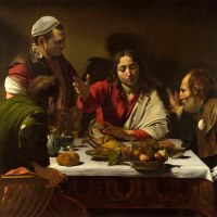 """Supper at Emmaus"" by Caravaggio (The National Gallery, London)"