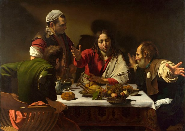 """Supper at Emmaus"" by Caravaggio"