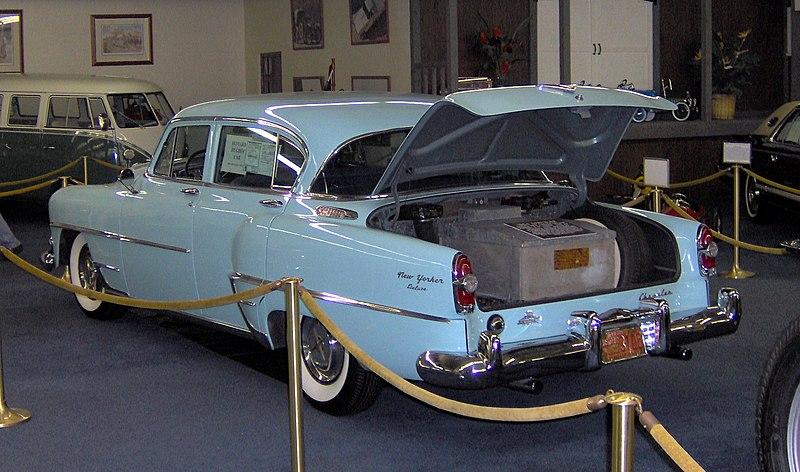 File:1954 Chrysler New Yorker Howard Hughes rear.JPG