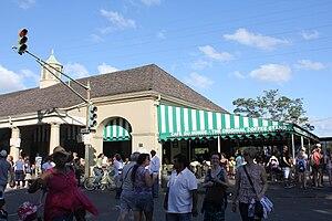 English: Original Cafe Du Monde Coffee Stand s...
