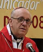 Cardinal Jorge Bergoglio in 2008