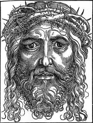 English: Jesus Christ crowned with thorns.