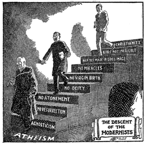 """""""The Descent of the Modernists"""", by ..."""
