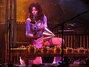 Evelyn Glennie at Moers Festival 2004