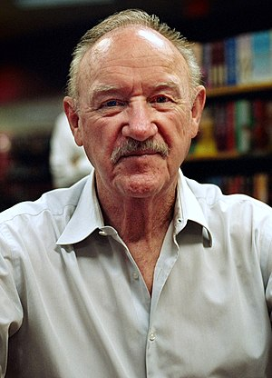 English: Gene Hackman at a book signing in Jun...
