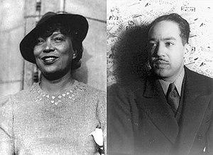 Zora Neale Hurston and Langston Hughes