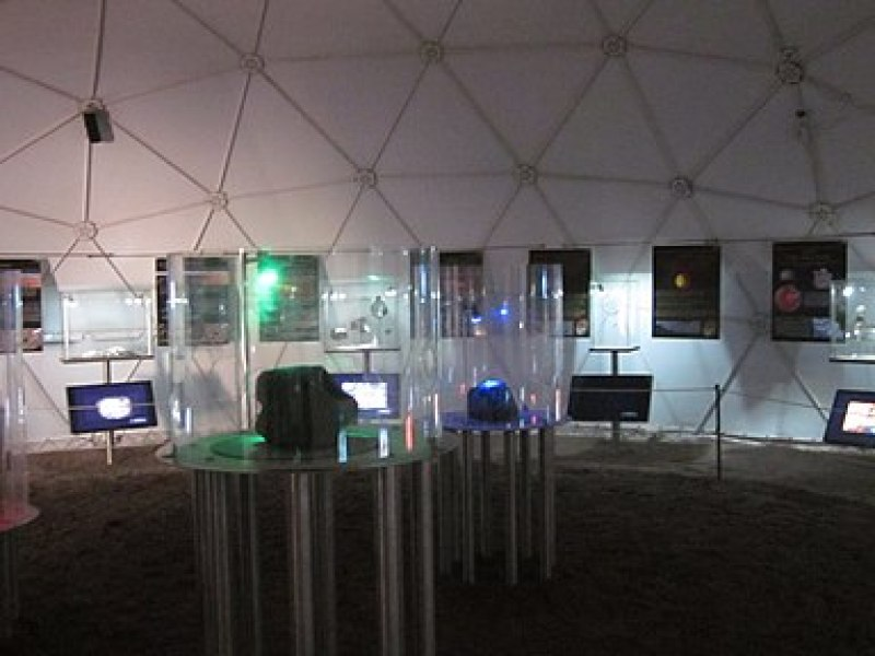 Interior Museo del Meteorito (9535940041)