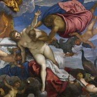 """The Origin of the Milky Way"" by Tintoretto"