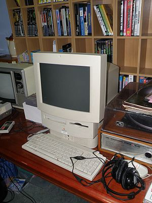 English: An Apple Macintosh LC 575 from my own...