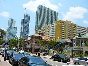 Mary Brickell Village on Miami Avenue