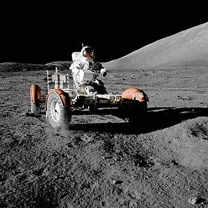 Apollo 17 mission on Moon, 11 December 1972