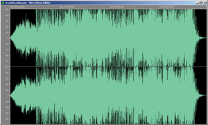 Screenshot of WAV file ripped from 2005 remast...
