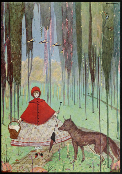 File:Page 24 illustration from Fairy tales of Charles Perrault (Clarke, 1922).png